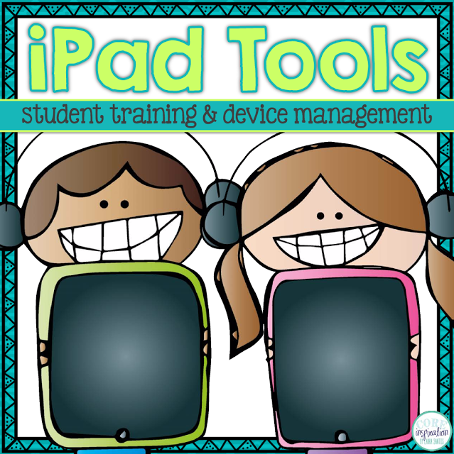 Teachers Pay Teachers product cover for my iPad Tools Resource.