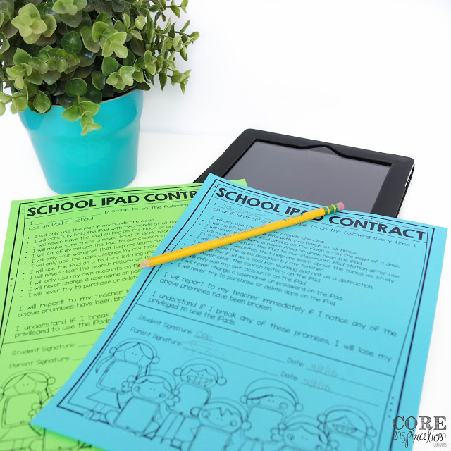 A closer look at my school iPad contract.