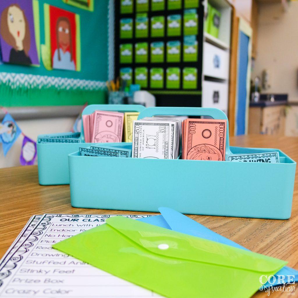 Core Inspiration Classroom Economy Essentials