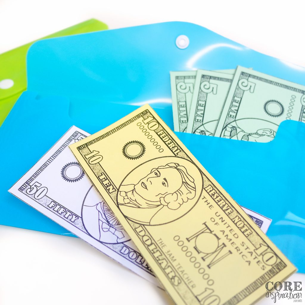 Core Inspiration Class Cash System Student Wallets