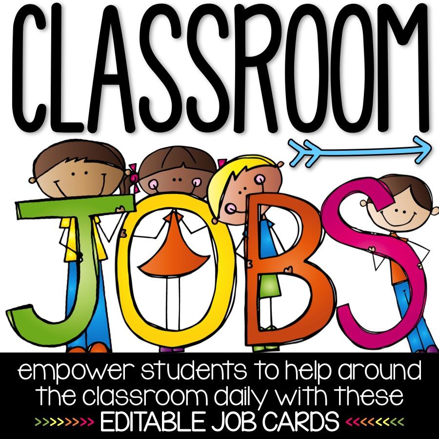 Core Inspiration Editable Classroom Jobs Freebie