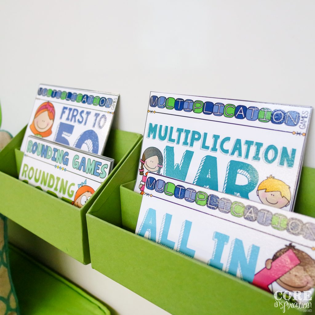 Core Inspiration Math In Motion Hands On Math Games