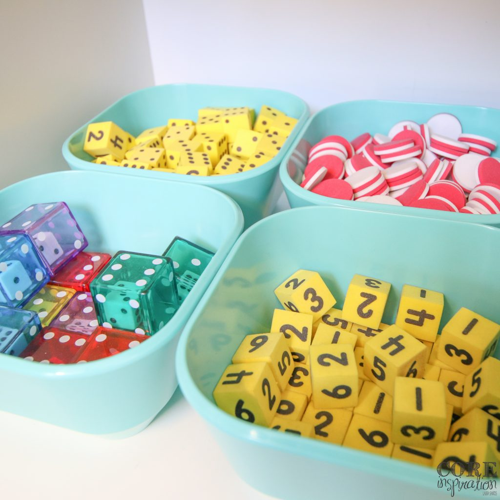 Math manipulates stored in cereal bowls